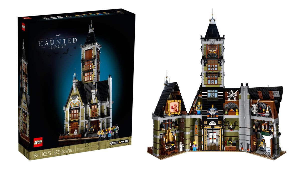10273 お化け屋敷:レゴ(LEGO) フェアグラウンド(遊園地)コレクション