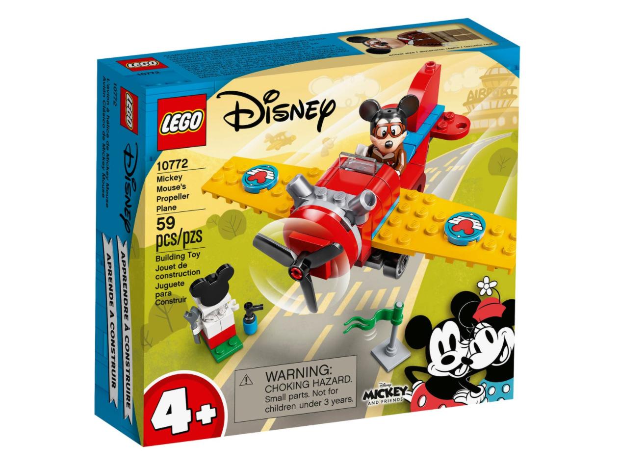 レゴ(LEGO) ディズニー ミッキーのプロペラ飛行機 10772