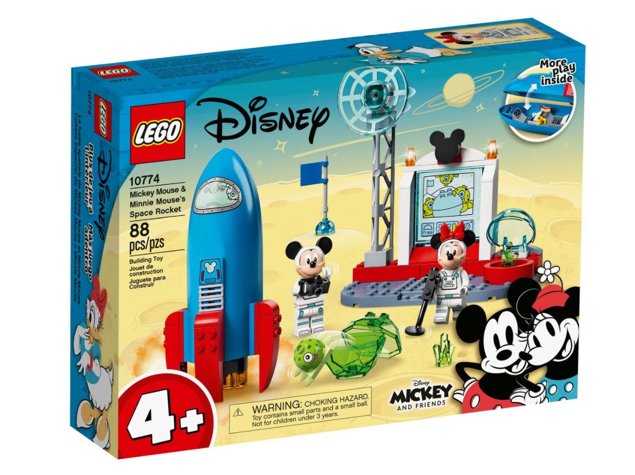 レゴ(LEGO) ディズニー ミッキーとミニーの宇宙ロケット 10774