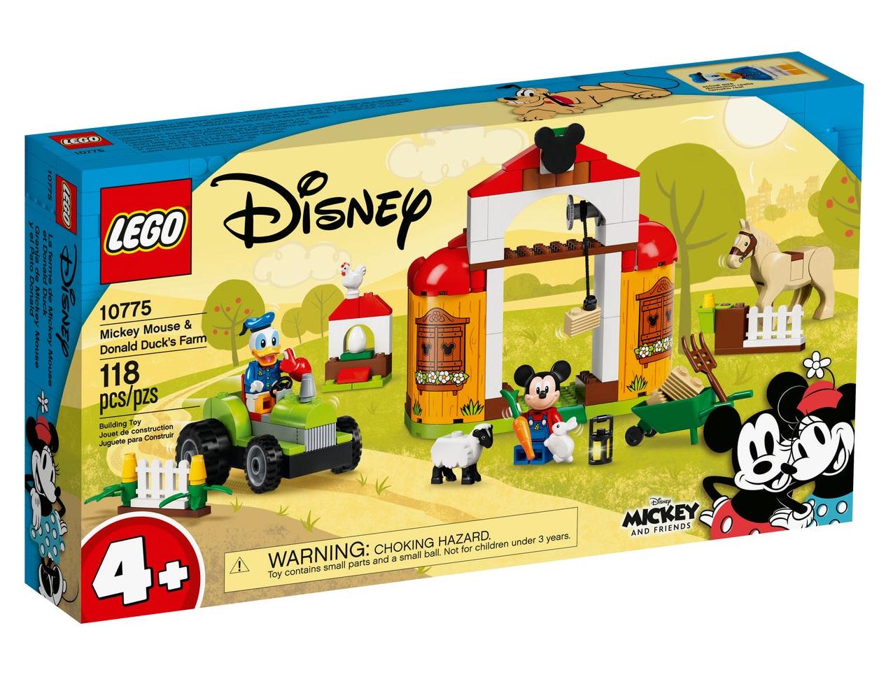 レゴ(LEGO) ディズニー ミッキーとドナルドの農場 10775