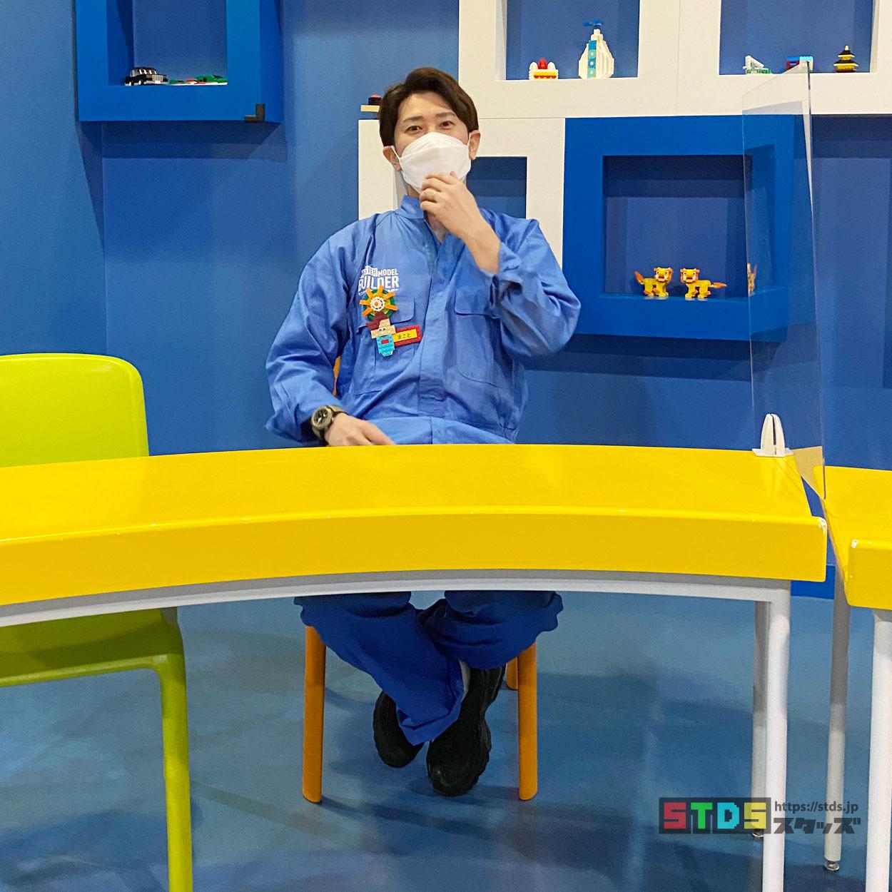 お笑い芸人マスター・モデル・ビルダー『くろぬままこと』さん独占インタビュー!笑いがあふれる楽しいワークショップを作りたい:レゴランド・ディスカバリー・センター東京