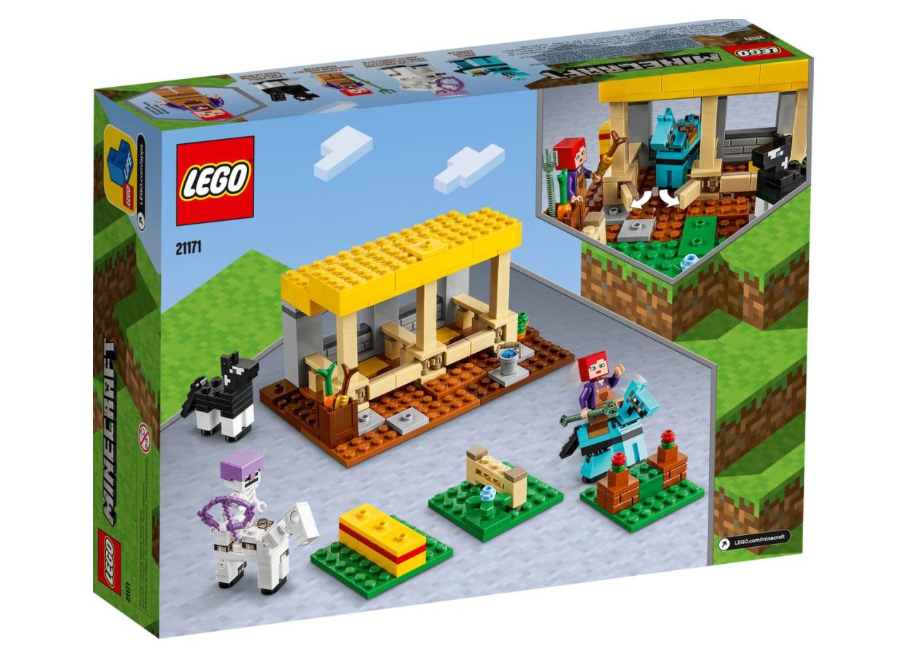 レゴ(LEGO) マインクラフト 馬小屋 21171