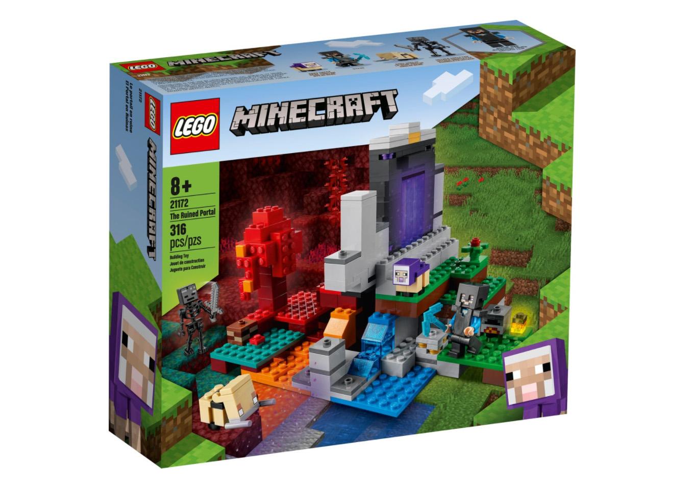 レゴ(LEGO) マインクラフト 荒廃したポータル 21172