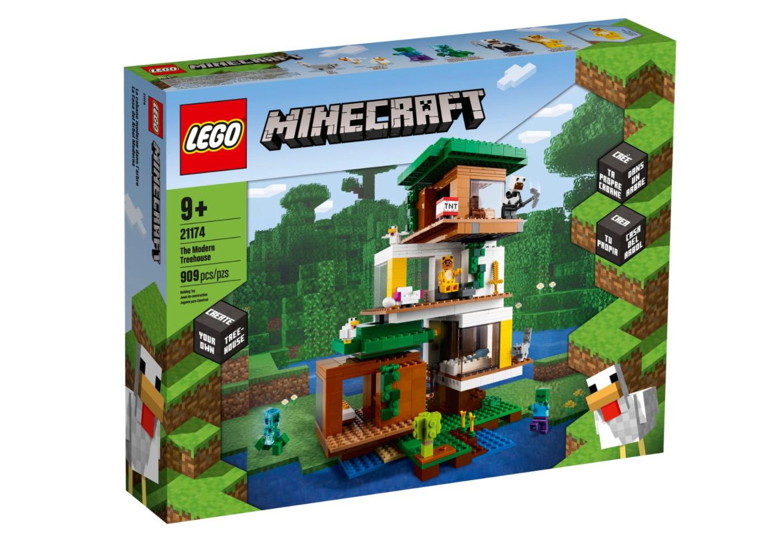 レゴ(LEGO) マインクラフト モダンツリーハウス 21174