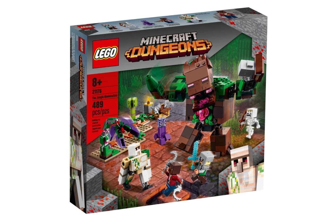 レゴ(LEGO) マインクラフト アボミネーションジャングル 21176