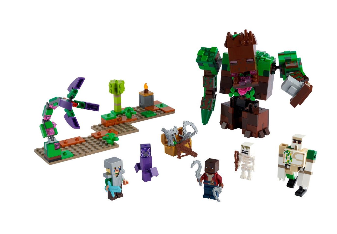 6月1日発売見込みレゴ マインクラフト新製品情報(2021)