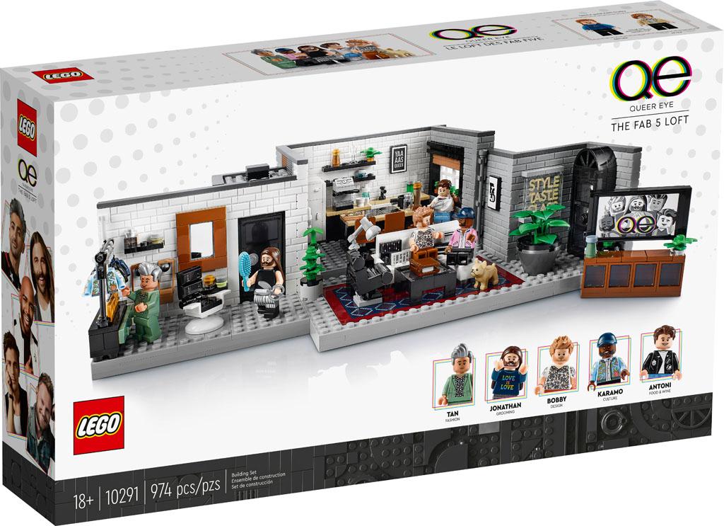 レゴ(LEGO) 大人レゴ クィア・アイのアパート 10291