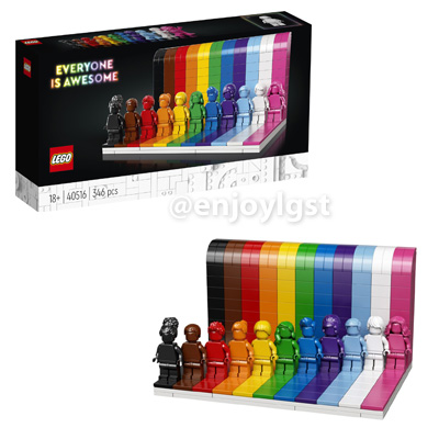 レゴ(LEGO) ミニフィギュア Everyone is Awesome 40516