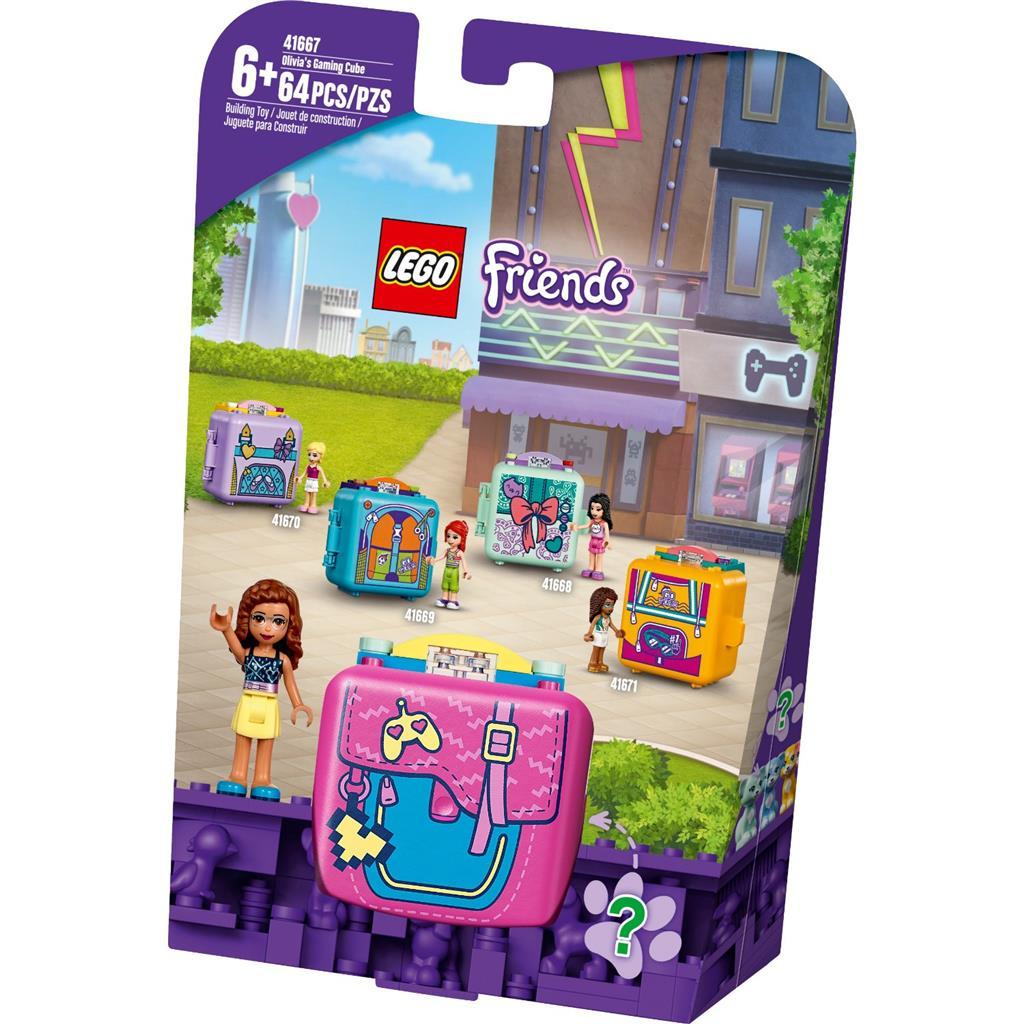 レゴ(LEGO) フレンズ オリビアのゲーム・キュービーズ 41667