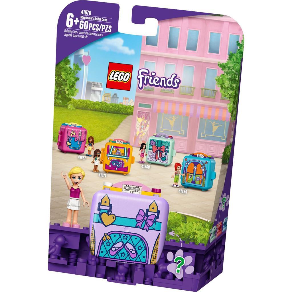 レゴ(LEGO) フレンズ ステファニーのバレエ・キュービーズ 41670