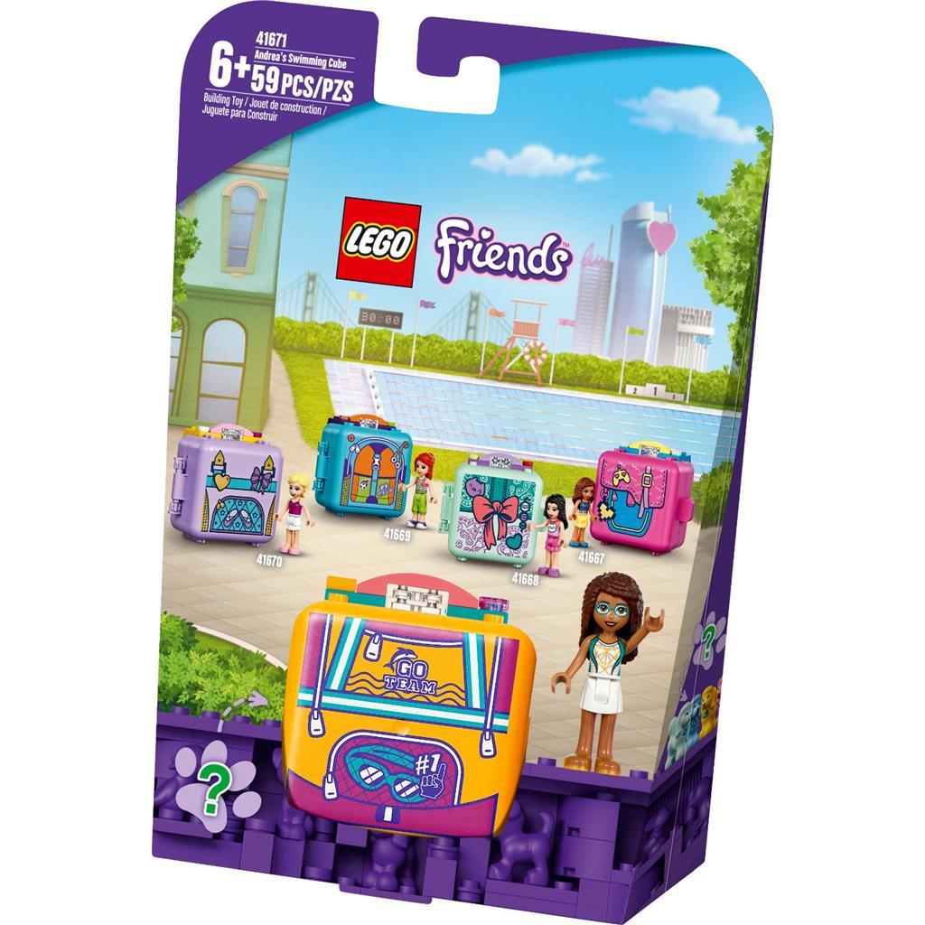 レゴ(LEGO) フレンズ アンドレアのスイミング・キュービーズ 41671