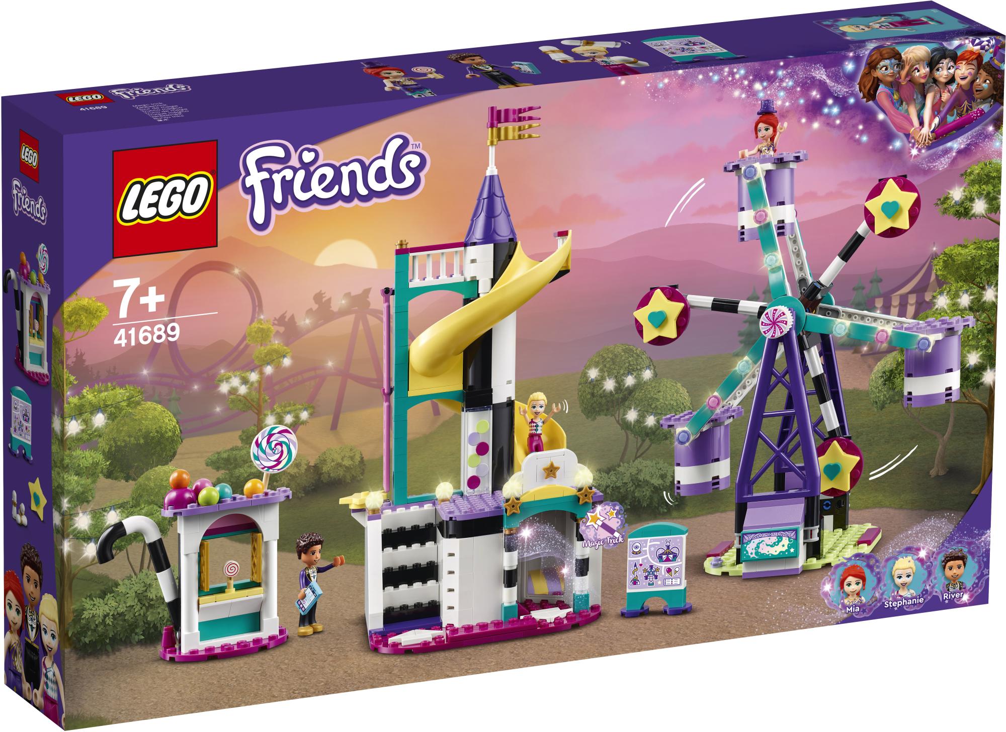 レゴ(LEGO) フレンズ マジカル観覧車と滑り台 41689