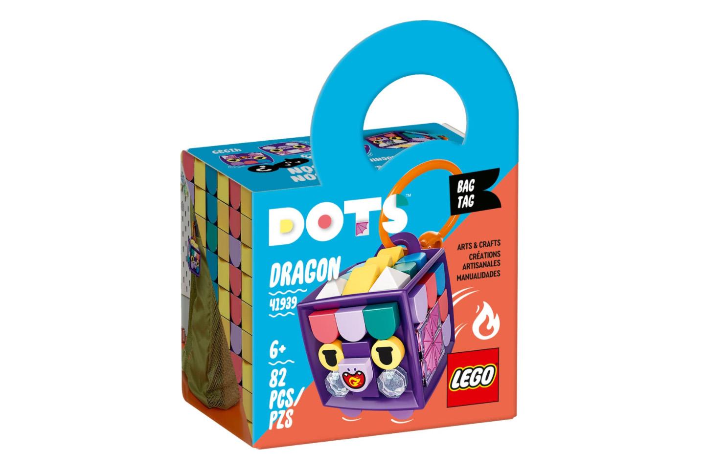レゴ(LEGO) ドッツ アニマルチャーム<ドラゴン> 41939