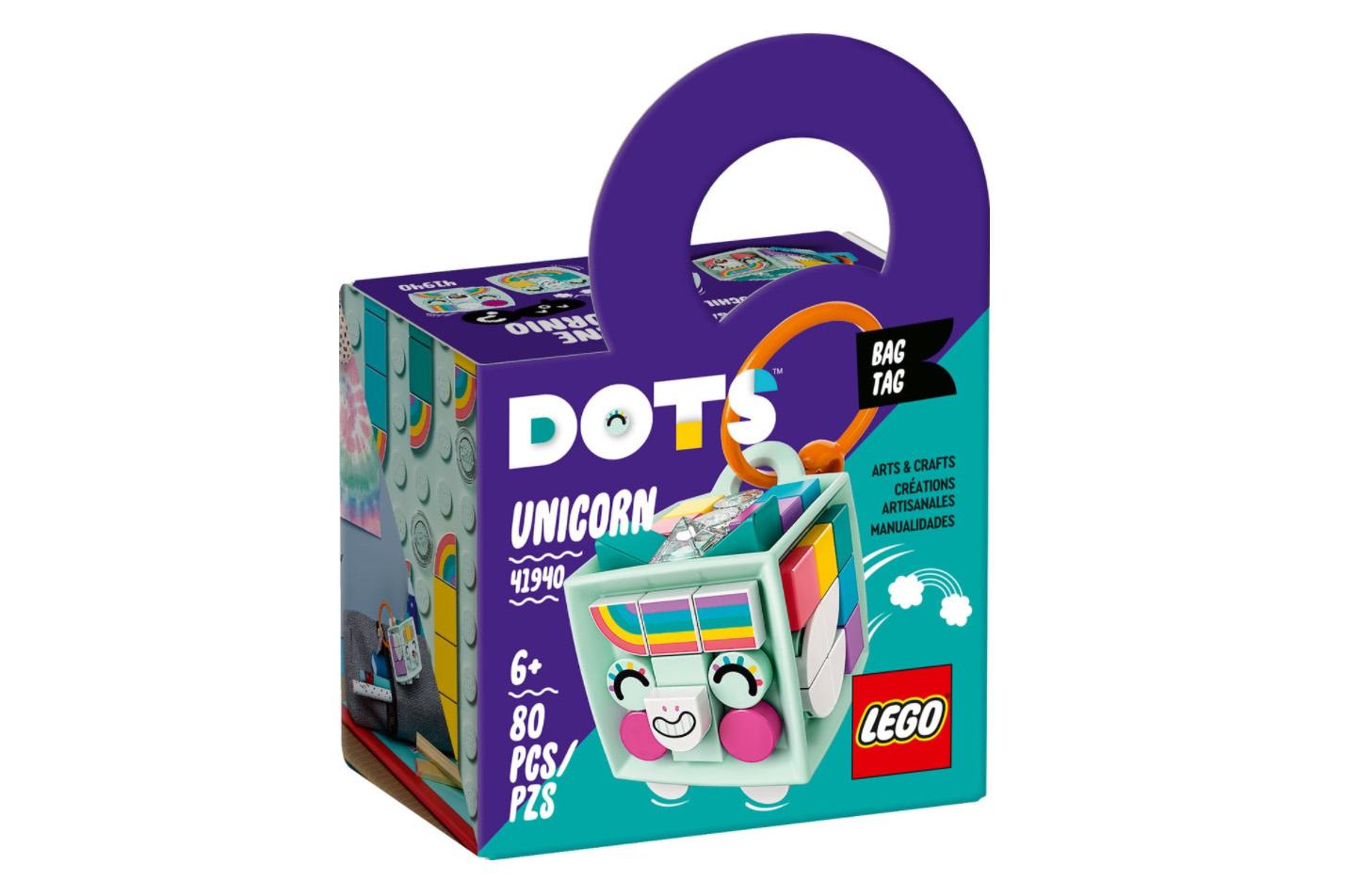 レゴ(LEGO) ドッツ アニマルチャーム<ユニコーン> 41940