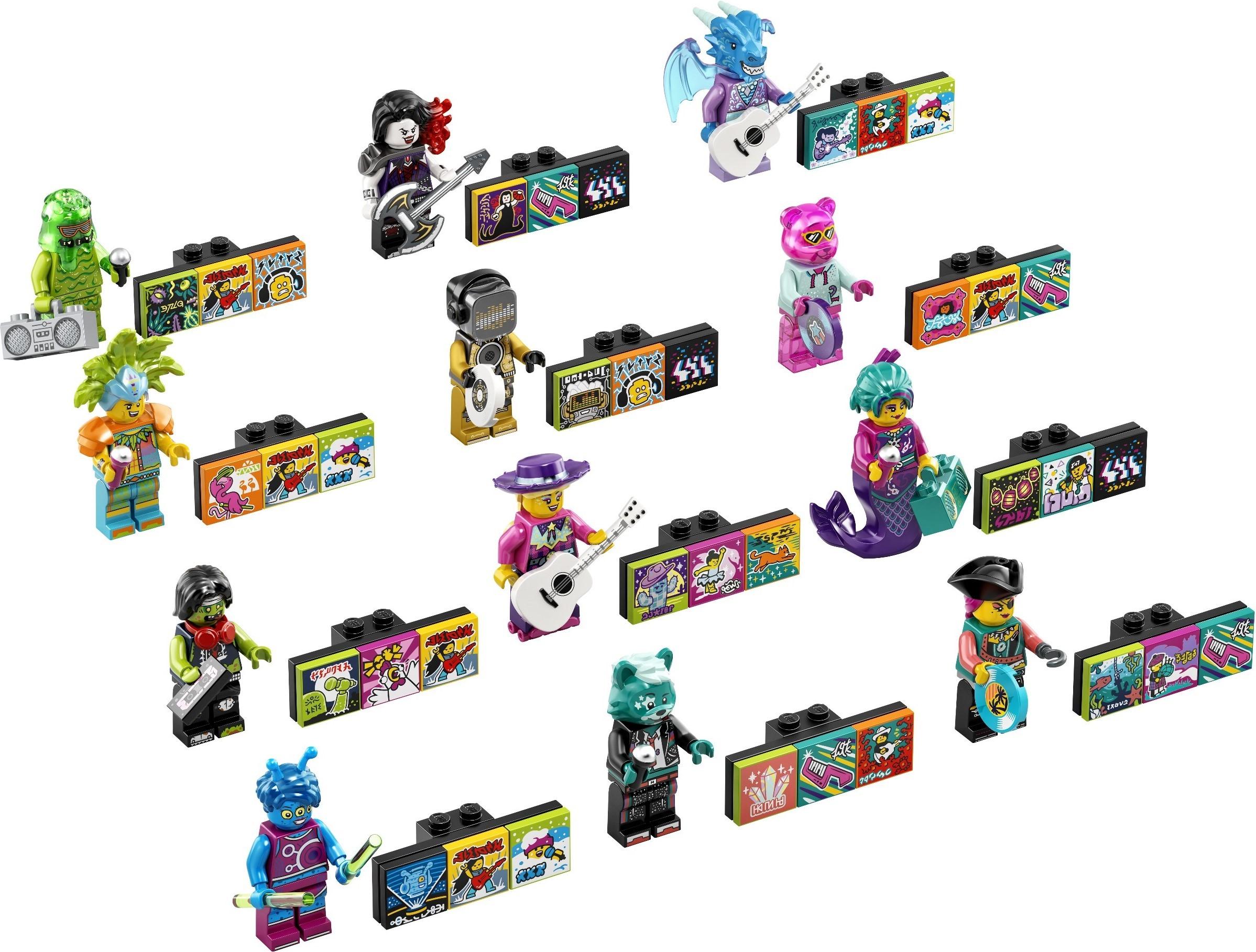 6月1日発売レゴVIDIYO新製品情報:ミュージックビデオを作る音楽シリーズ!(2021)