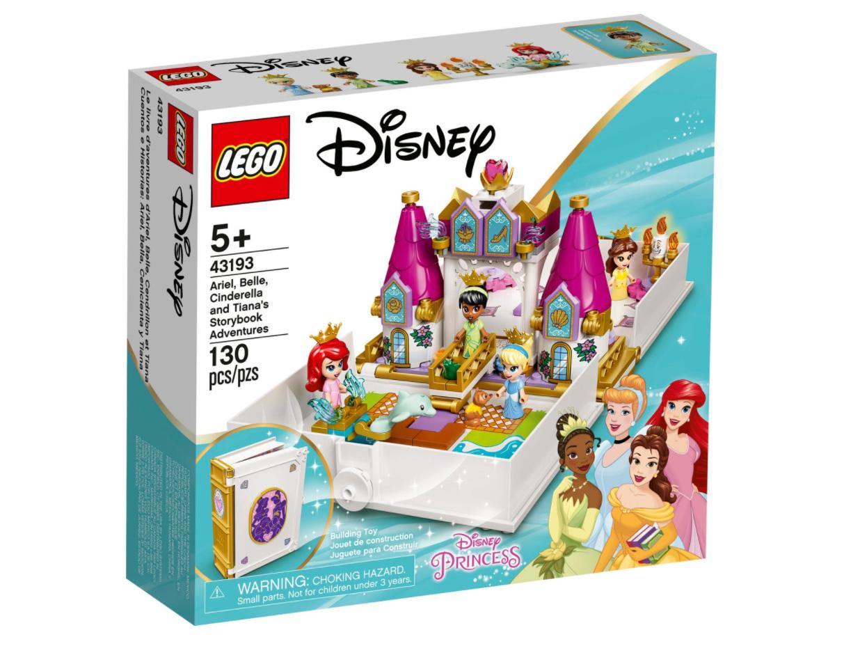 レゴ(LEGO) ディズニー アリエル、ベル、シンデレラ、ティアナのプリンセスブック 43193