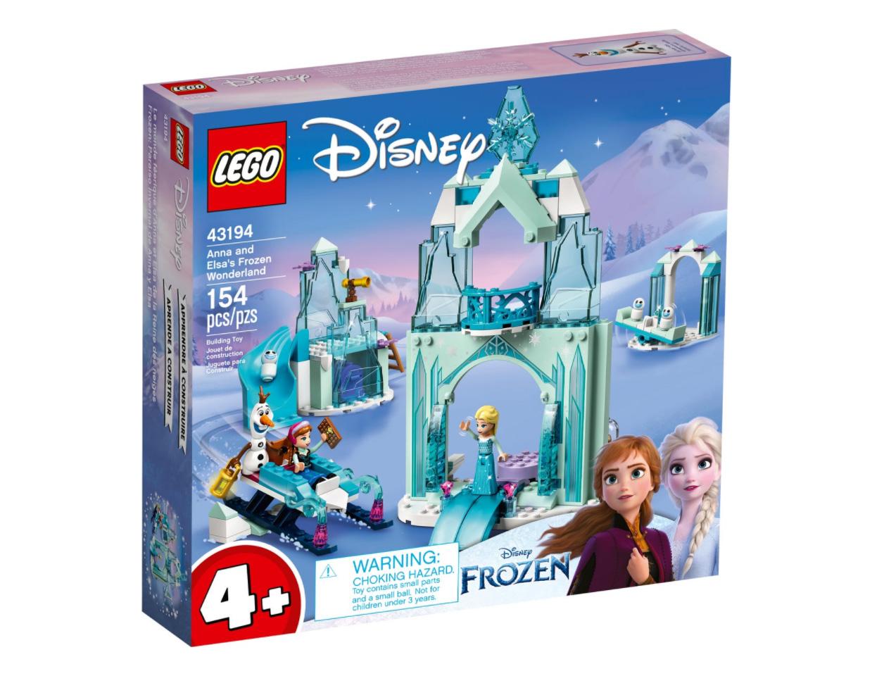 レゴ(LEGO) ディズニー・プリンセス アナとエルサの氷のワンダーランド 43194