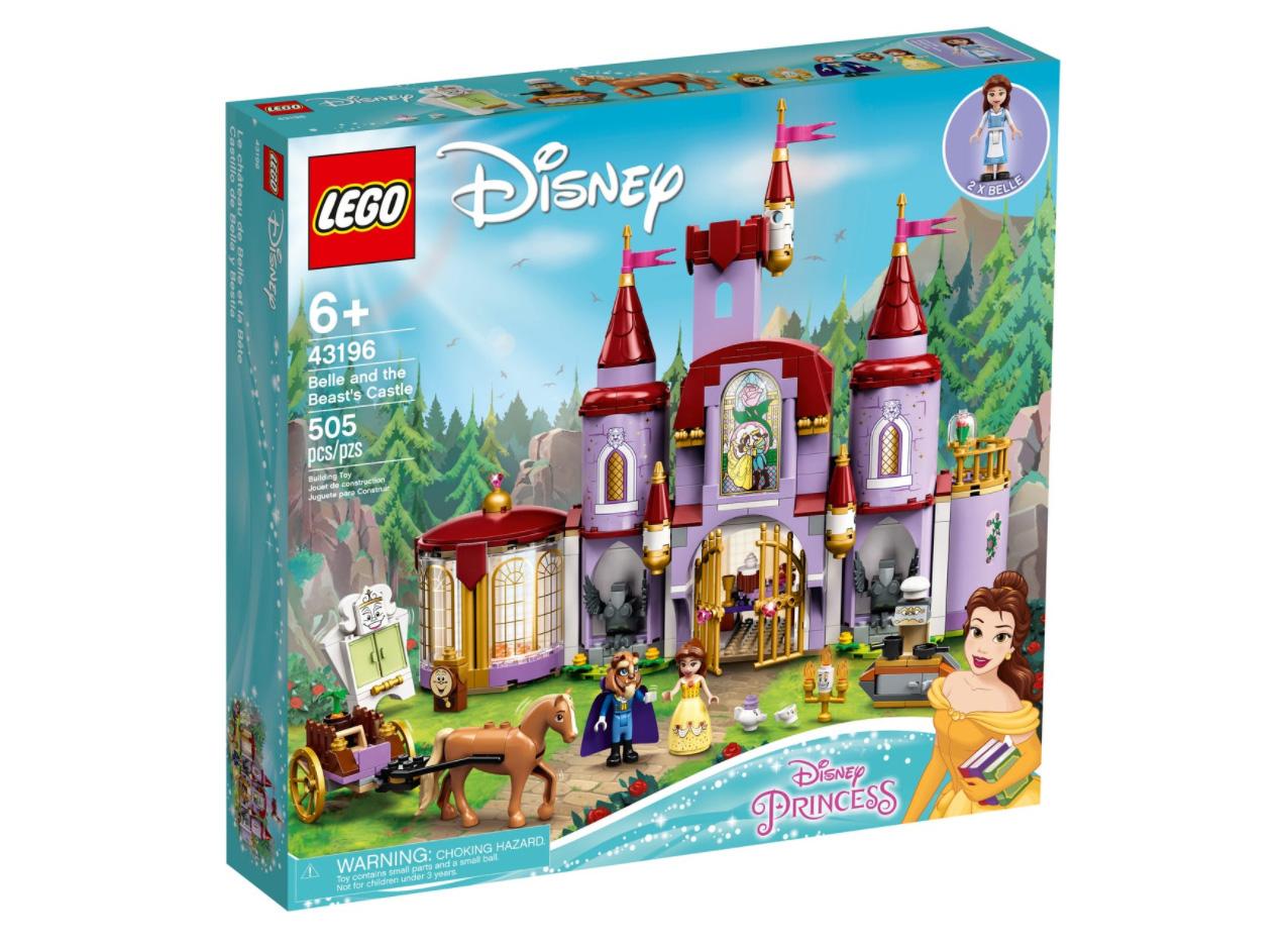 レゴ(LEGO) ディズニー・プリンセス 美女と野獣の城 43196