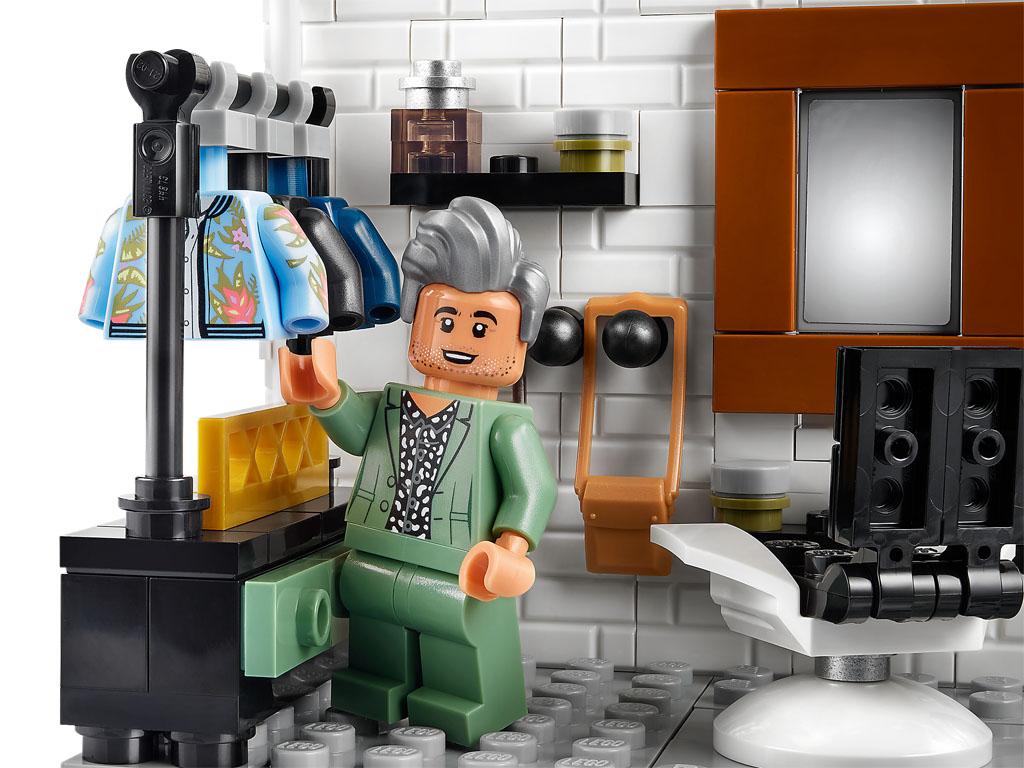 レゴ『10291 クィア・アイ』新製品情報:Netflixのリアリティ番組(2021)