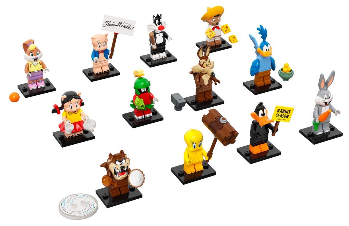5月1日発売レゴ『71030 ルーニー・テューンズ』ミニフィグ新製品情報(2021)