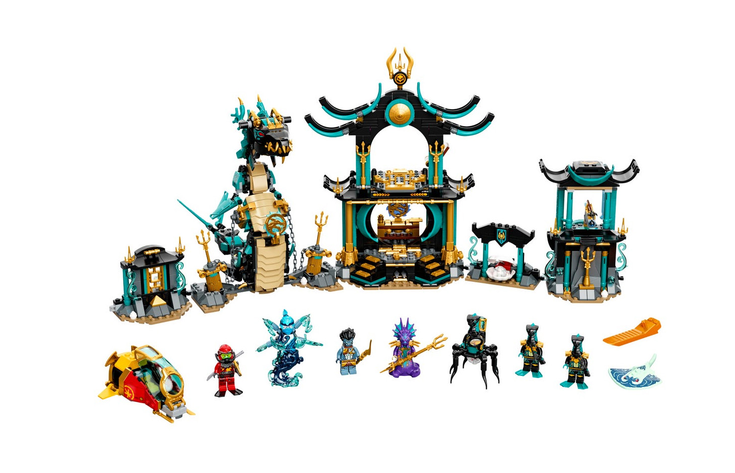 2021年6月発売見込みレゴ ニンジャゴー新製品情報:みんな大好きバトルアクションシリーズ