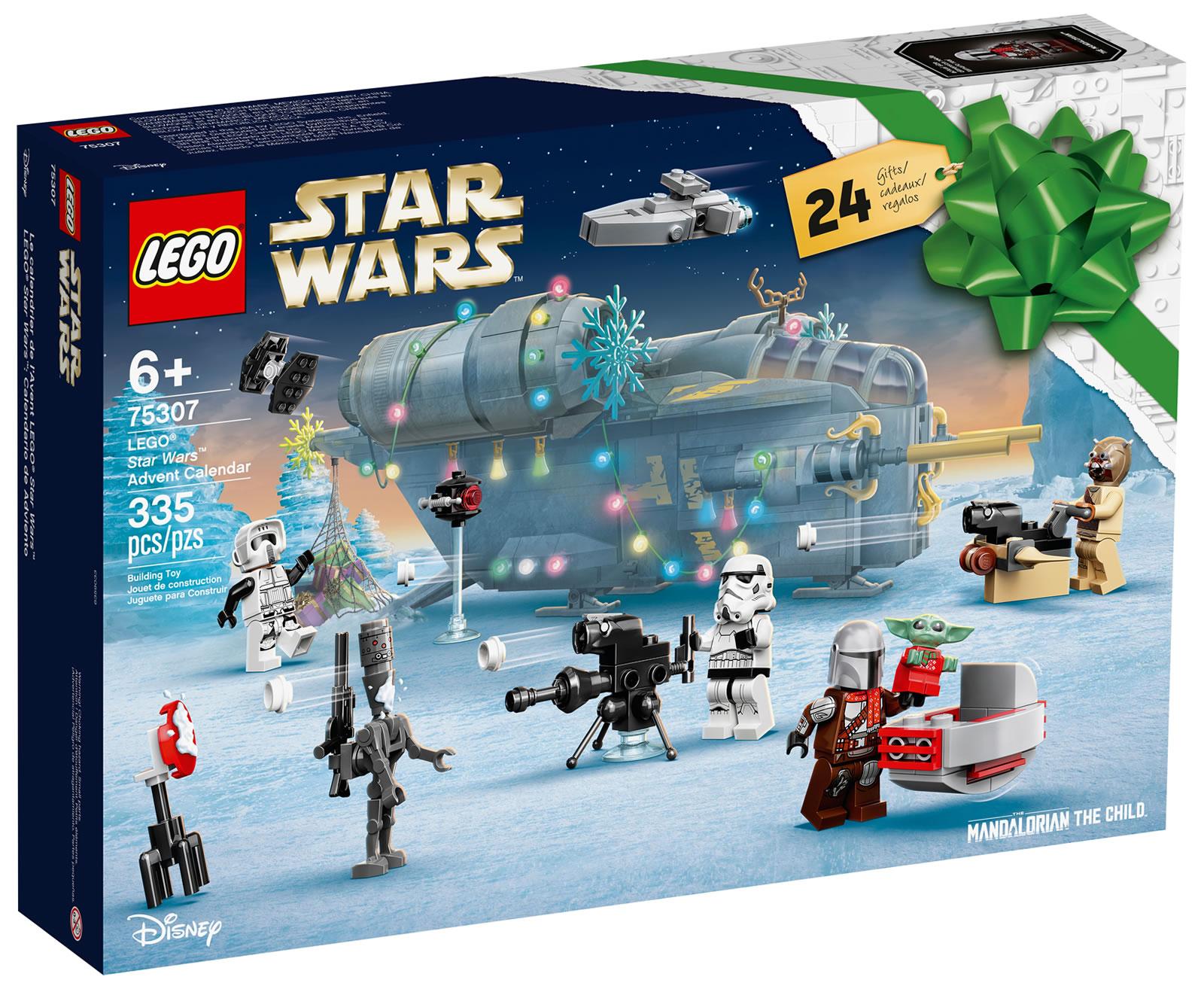 【2021年版】レゴ(LEGO) スター・ウォーズ アドベントカレンダー 75307
