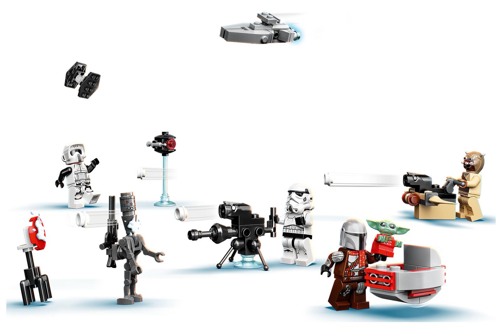 2021年9月1日発売レゴ アドベントカレンダー新製品情報:シティ、フレンズ、ハリポタ、スター・ウォーズの定番シリーズ