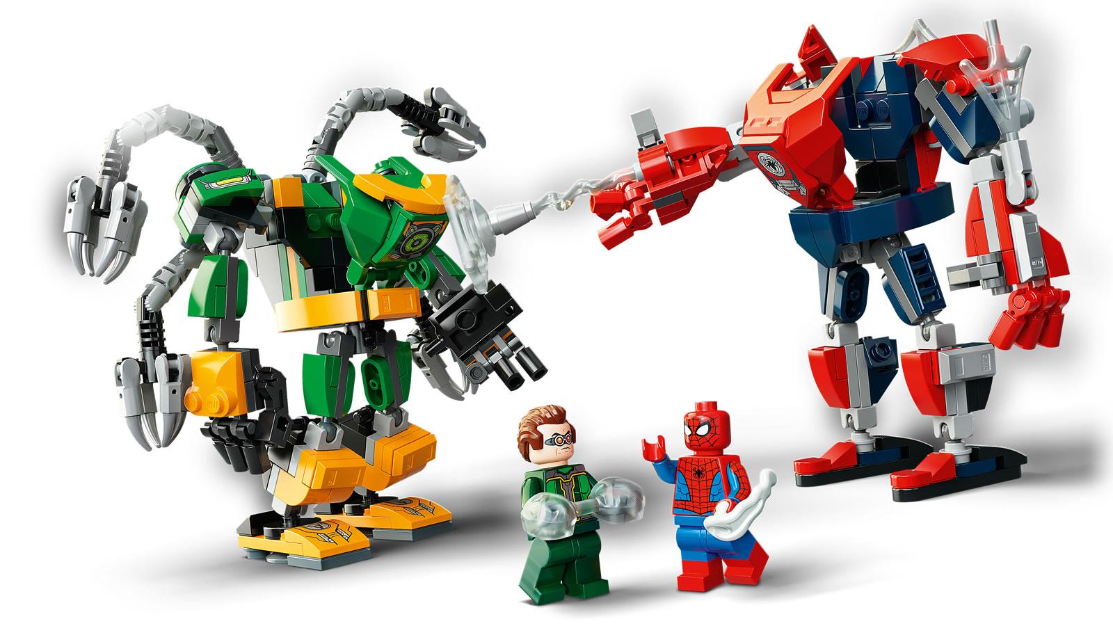 レゴ マーベル『76189スパイダーマンとドクター・オクトパスメカバトル』新製品情報 :2021年4月~5月発売見込み