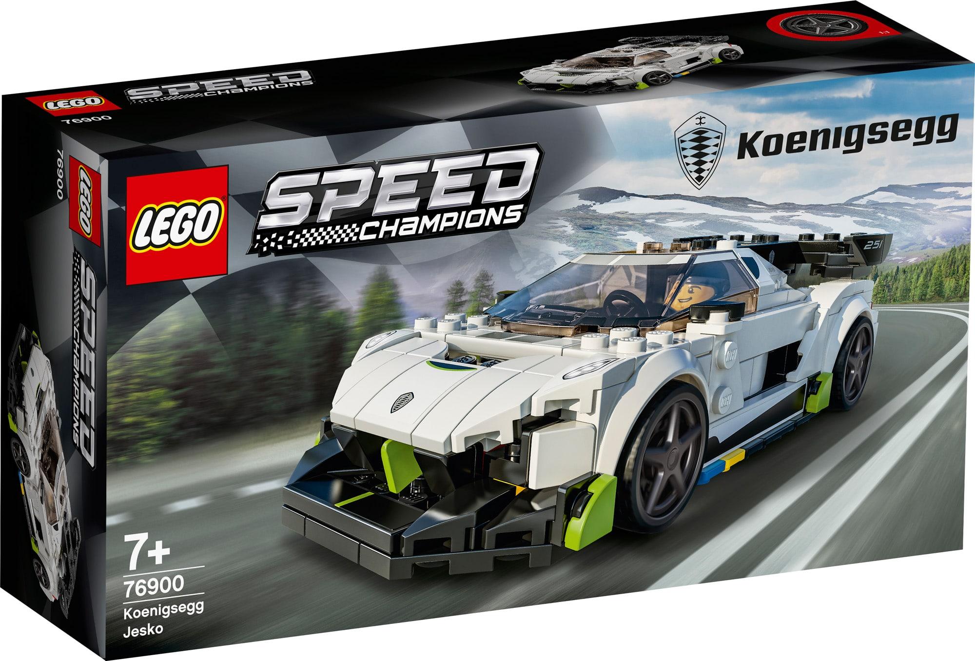 レゴ(LEGO) スピードチャンピオン ケーニグセグ 76900