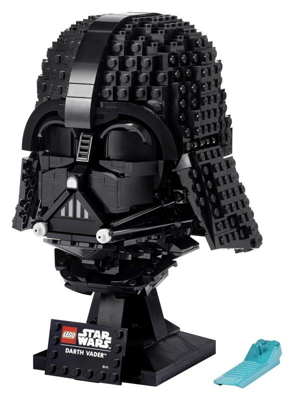 レゴ新製品『75304 ダース・ベイダー・ヘルメット』5月4日発売見込み(2021)