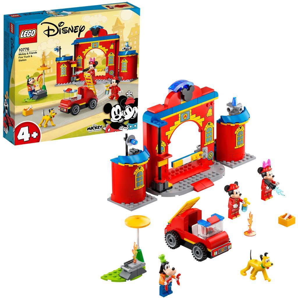 レゴ(LEGO) ディズニー ミッキーとミニーの消防署 10776