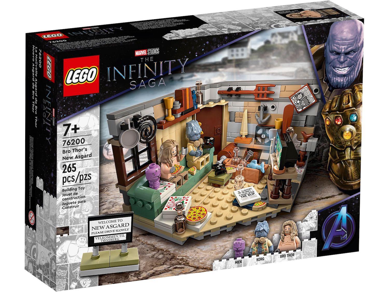 レゴ(LEGO) マーベル・スーパー・ヒーローズ ブロ・ソーの新アスガルド 76200