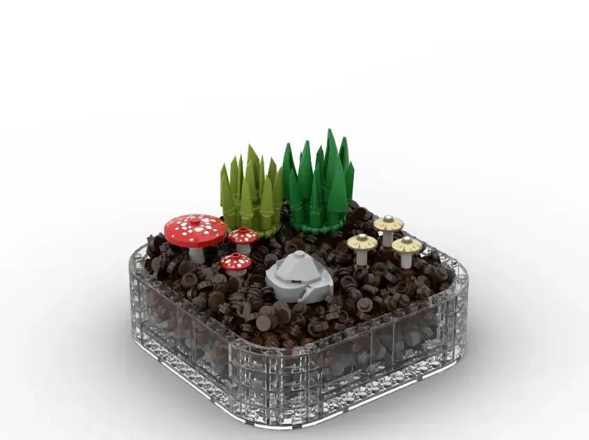 レゴアイデアで『テラリウム』が製品化レビュー進出!2021年第3回1万サポート獲得デザイン紹介