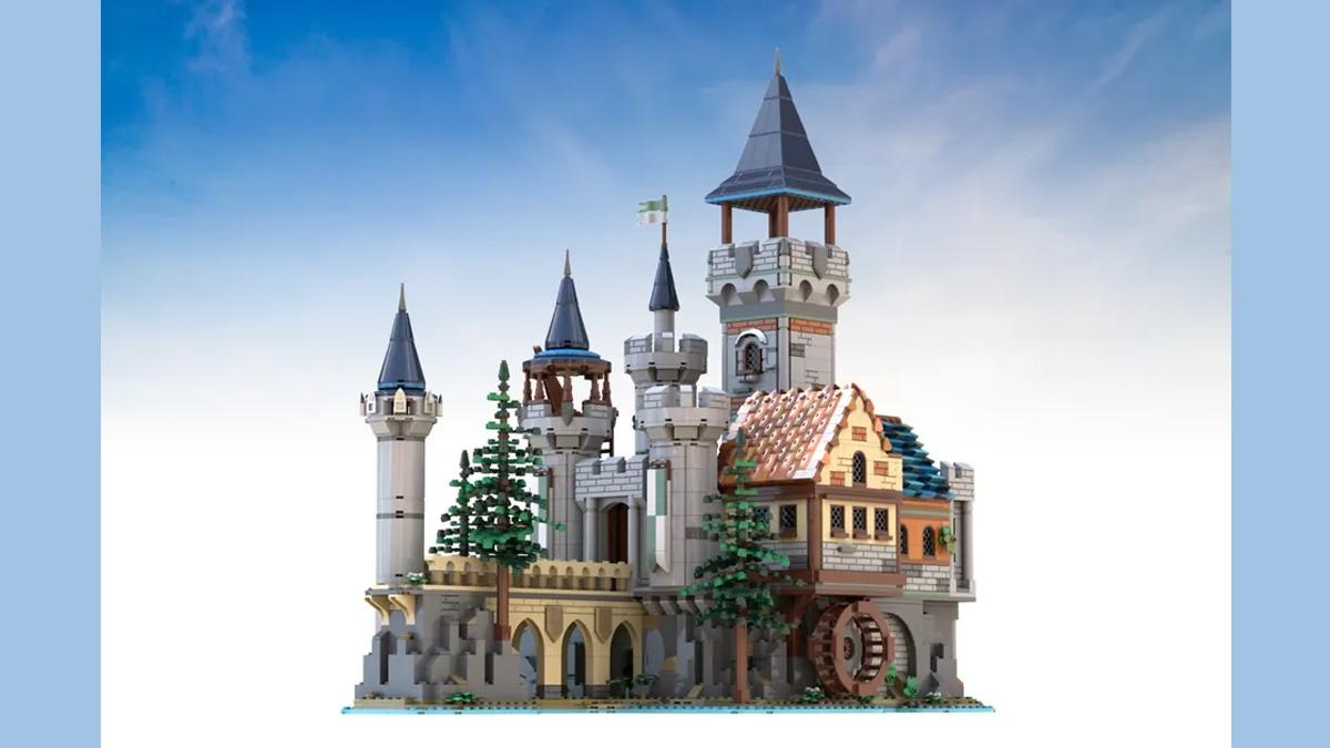 レゴアイデアで『中世の砦』が製品化レビュー進出!2021年第2回1万サポート獲得デザイン紹介