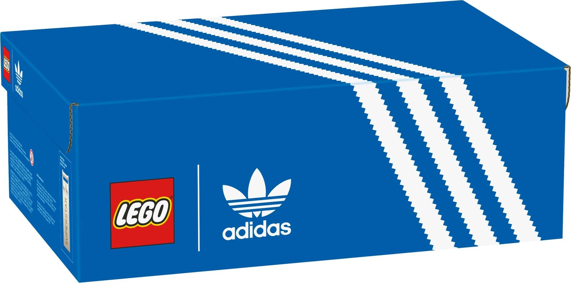 7月1日発売レゴ『10282 アディダス オリジナルス スーパースター』新製品情報(2021)