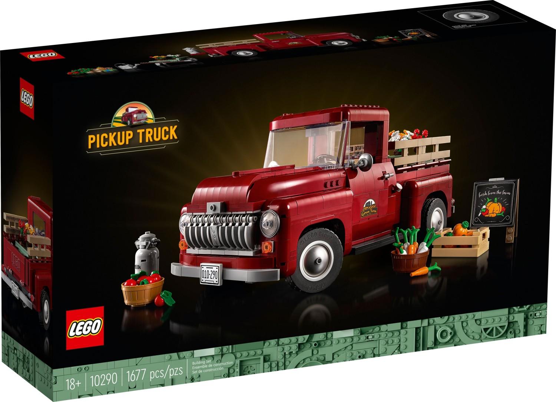 レゴ(LEGO) 大人レゴ ピックアップトラック 10290