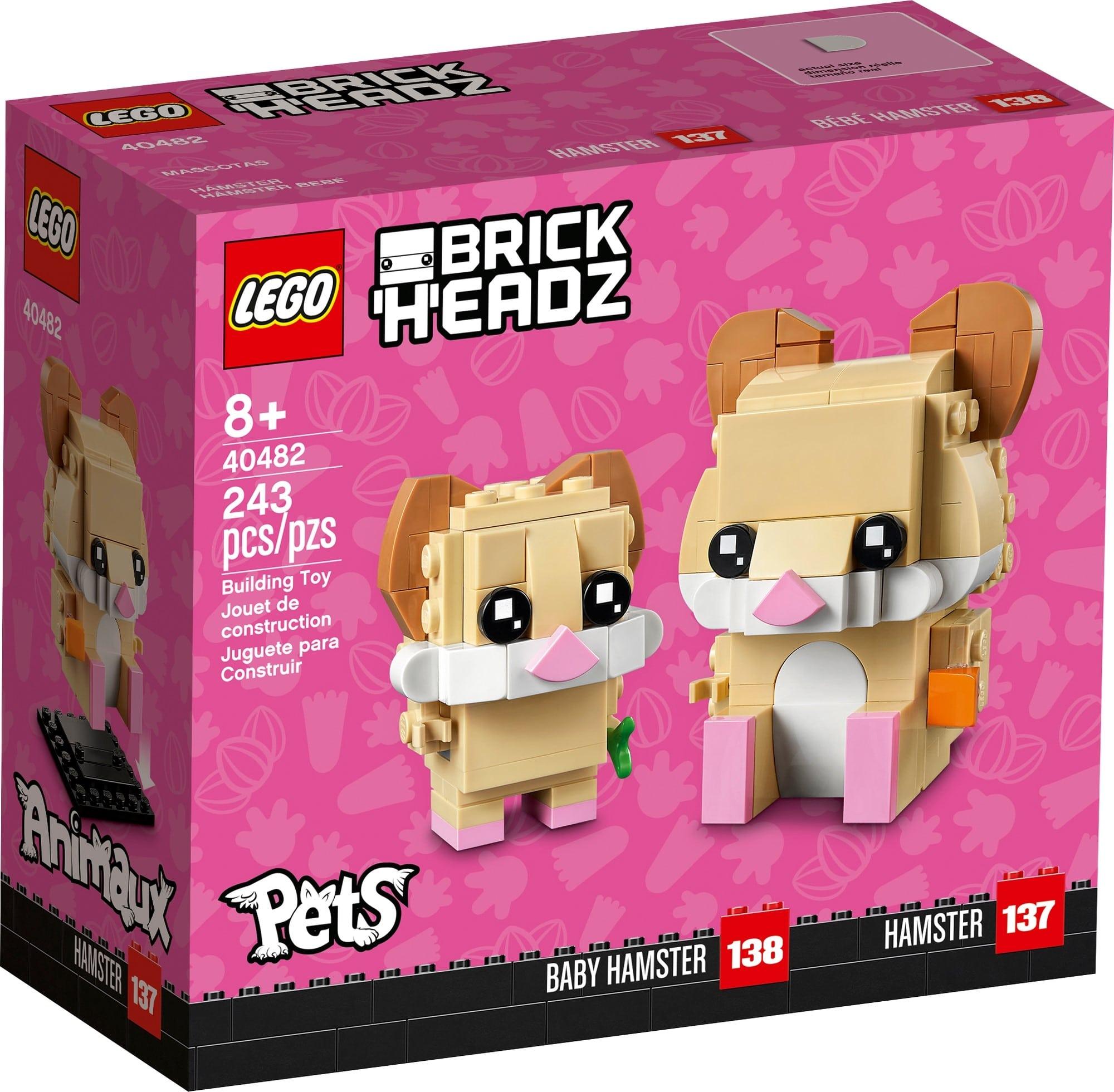 レゴ(LEGO) ブリックヘッズ ハムスター 40482