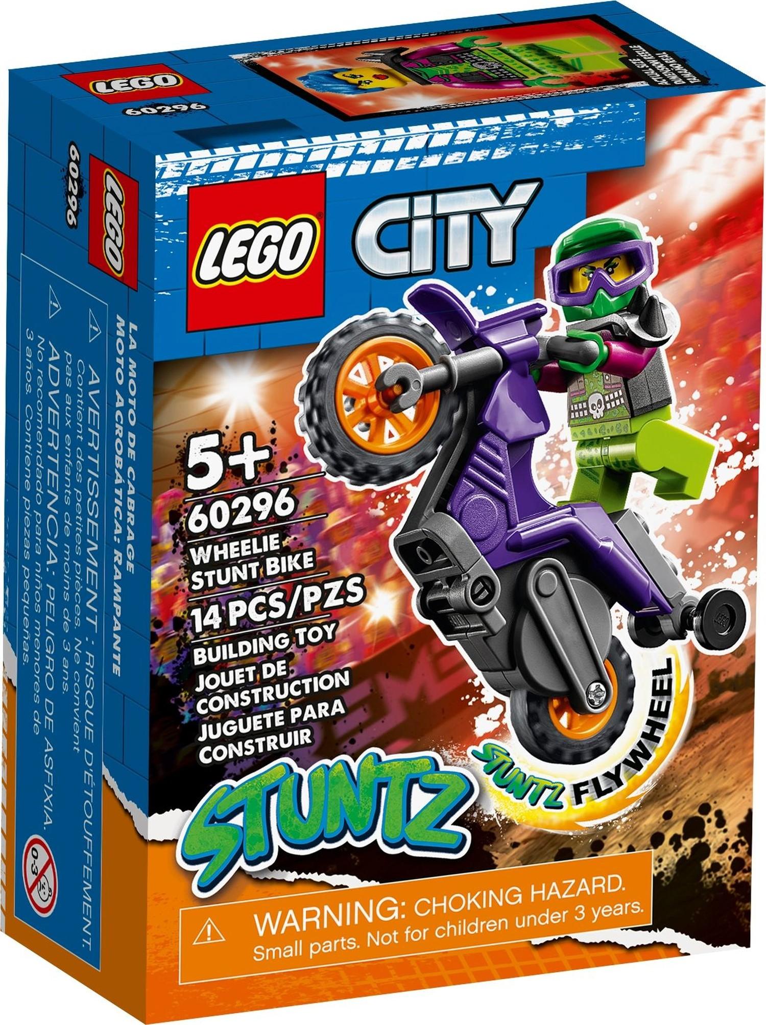レゴ(LEGO) シティ ウィリー・スタントバイク 60296