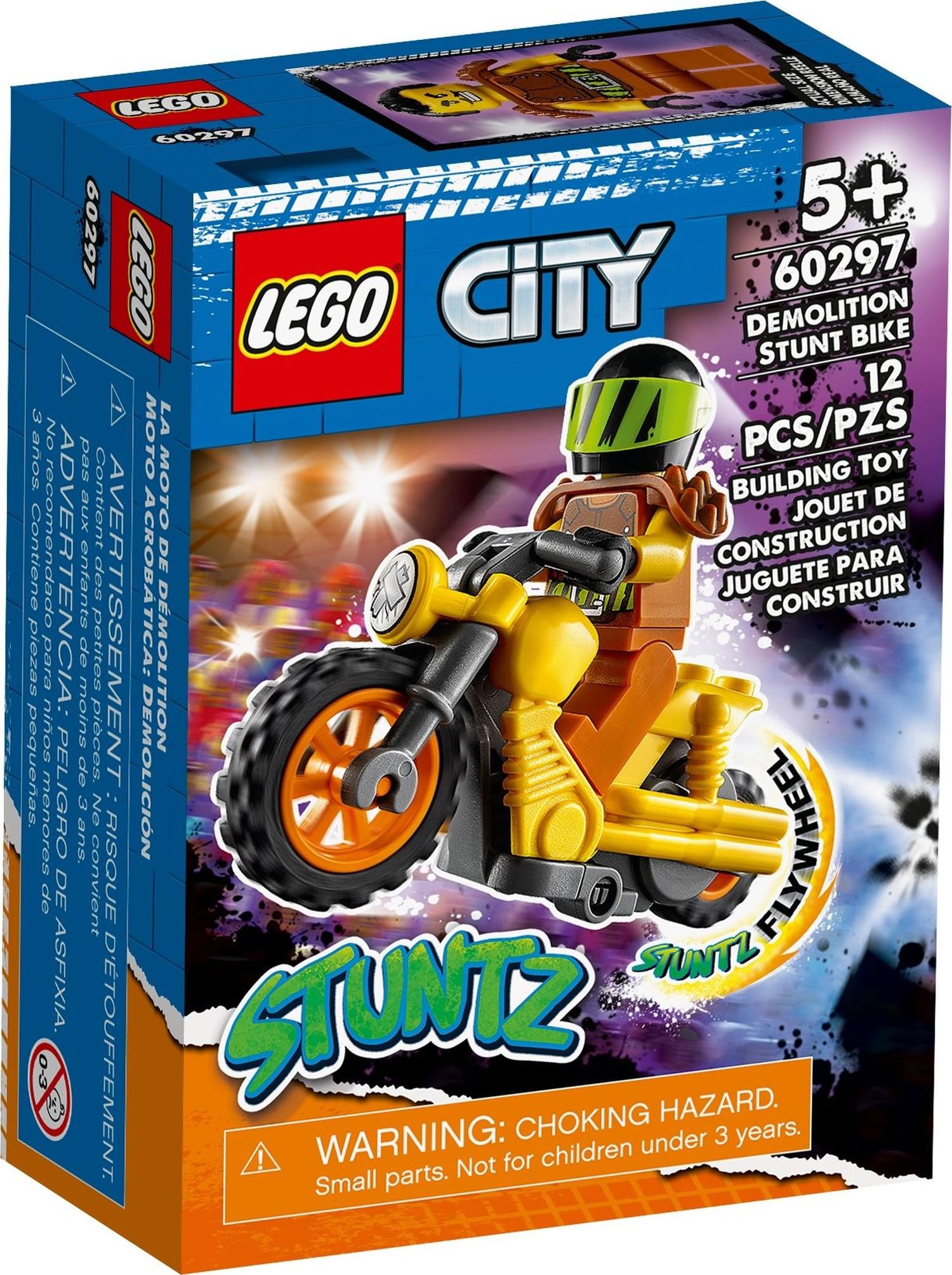 レゴ(LEGO) シティ デモリション・スタントバイク 60297