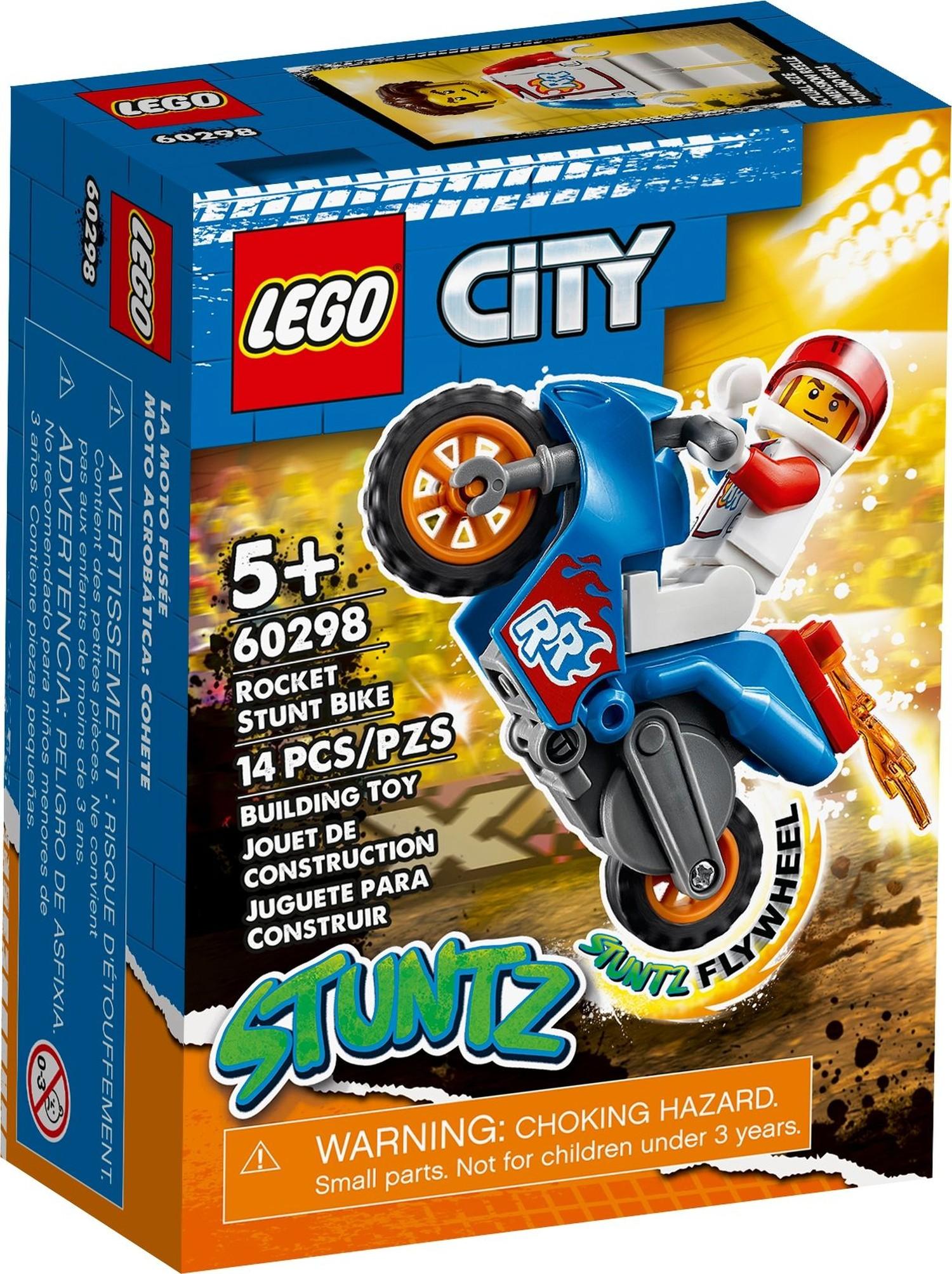 レゴ(LEGO) シティ ロケット・スタントバイク 60298