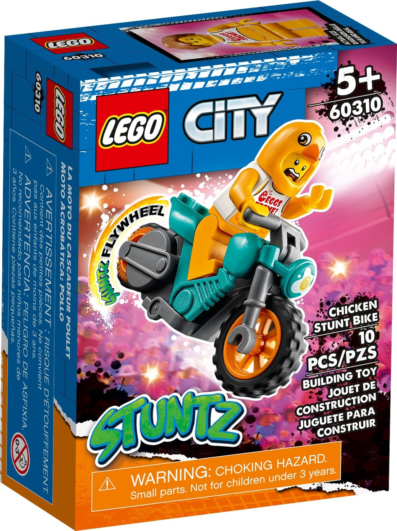レゴ(LEGO) シティ チキン・スタントバイク 60310