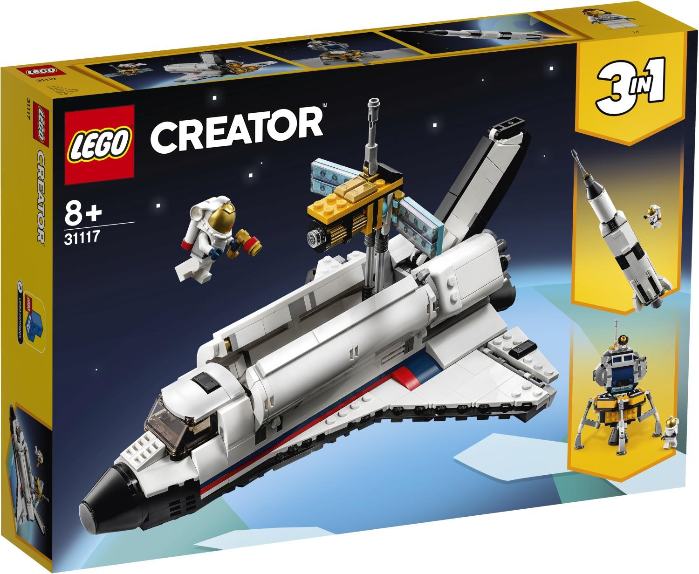レゴ(LEGO) クリエイター スペースシャトルの冒険 31117