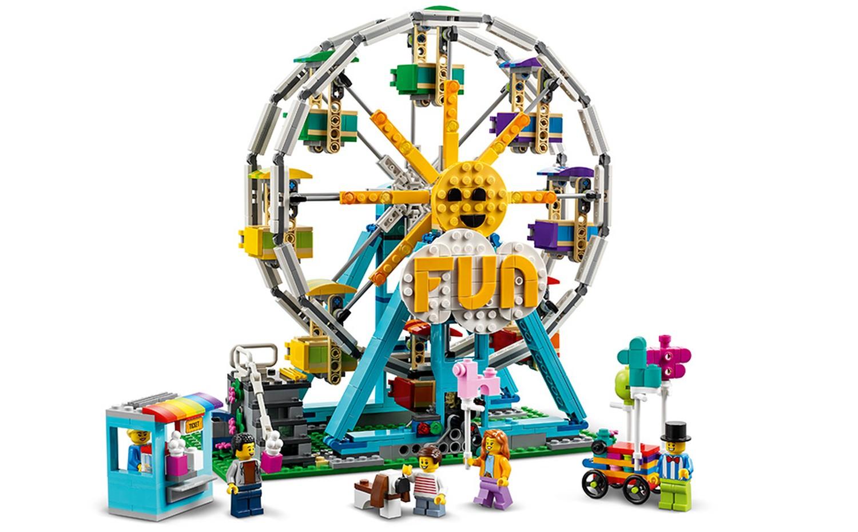 2021年6月1日(火)発売見込み:レゴ クリエイター新製品情報:シャトル、中世、観覧車など