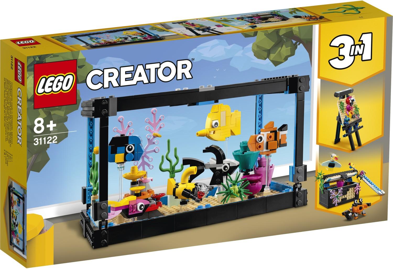 レゴ(LEGO) クリエイター アクアリウム 31122