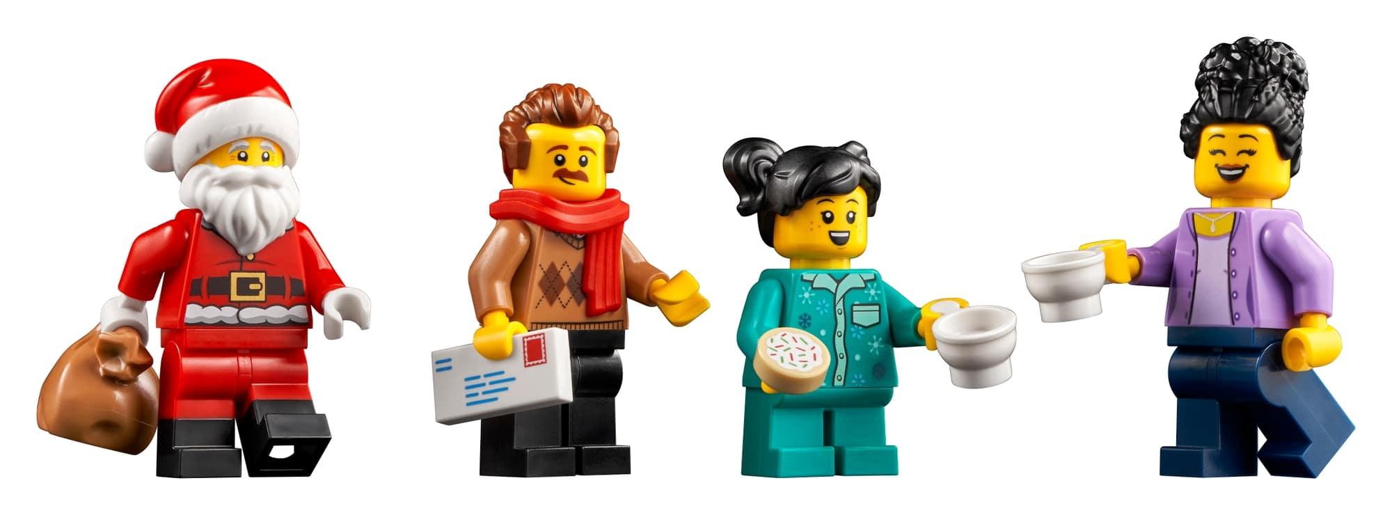 レゴ『10293 サンタがやってくる』クリスマス・ウィンタービレッジ新製品情報(2021)