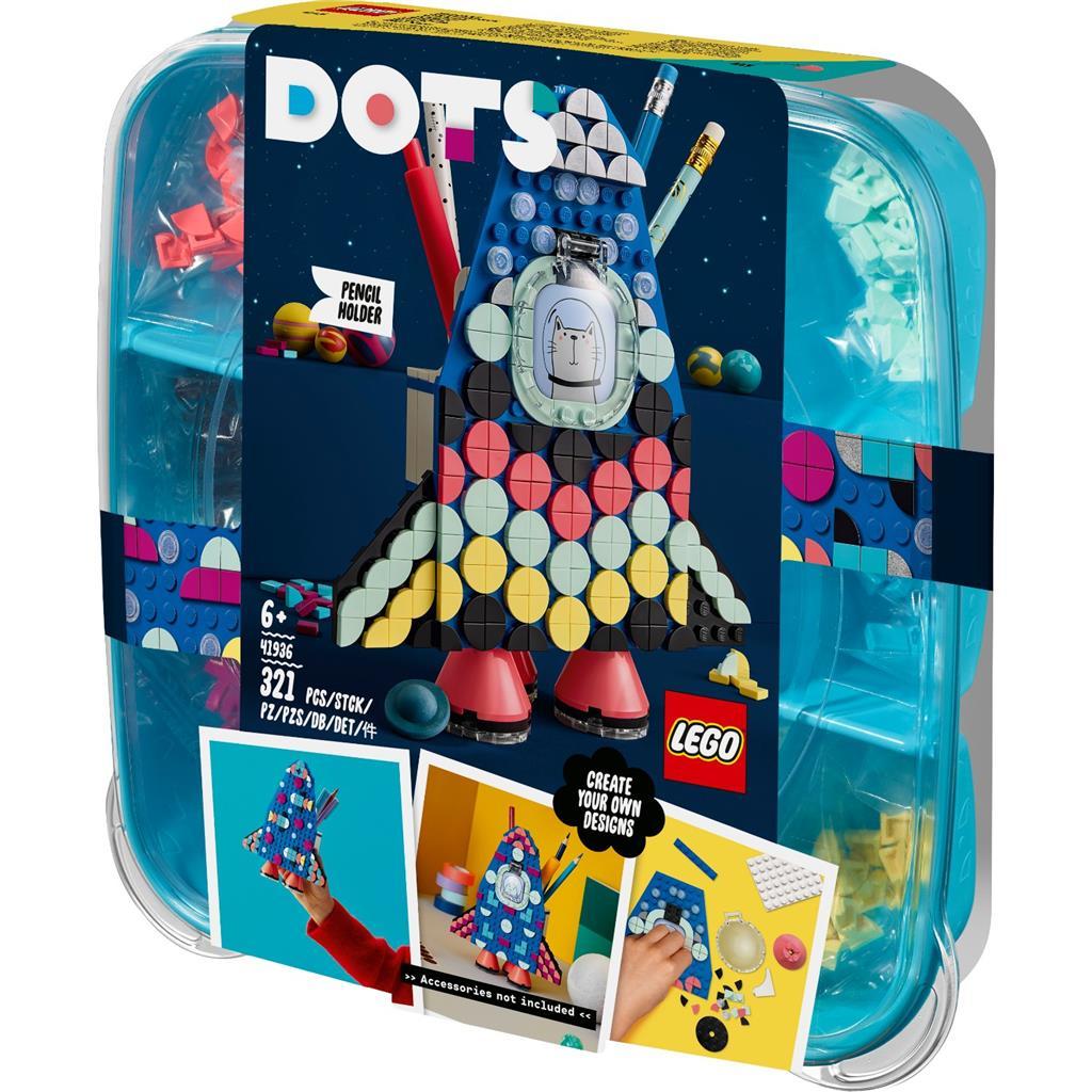 レゴ(LEGO) ドッツ ロケット・ペンホルダー 41936