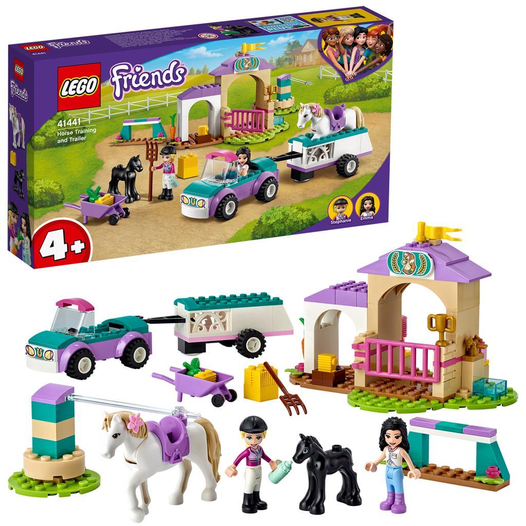 レゴ(LEGO) フレンズ 馬のトレーニングとトレーラー 41441