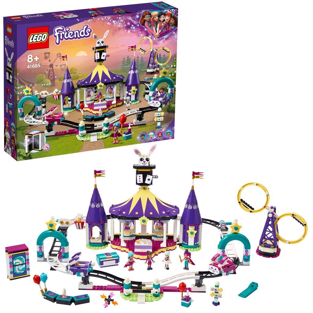 レゴ(LEGO) フレンズ フェアグラウンド・ローラーコースター 41685