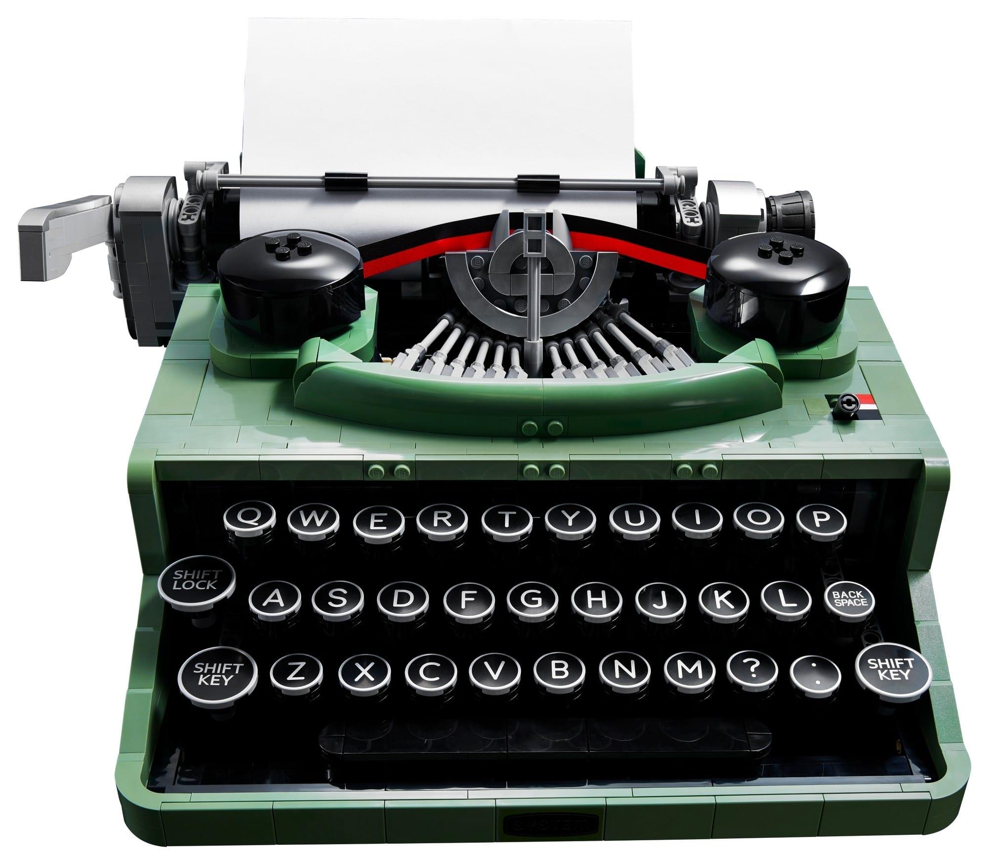 7月1日発売レゴアイデア『21327 タイプライター』新製品情報(2021)