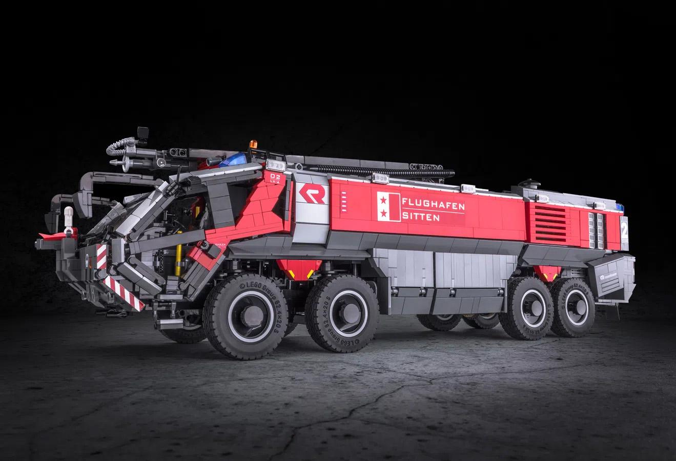 レゴアイデアで『ローゼンバウワー空港用化学消防車』が製品化レビュー進出!2021年第2回1万サポート獲得デザイン紹介